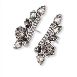 Madison Climber earrings by Kendra Scott